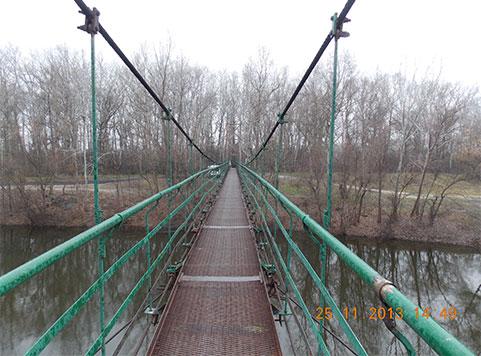 Repair of foot bridge in Zapsillya village